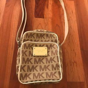 Michael Kors crossbody bag.
